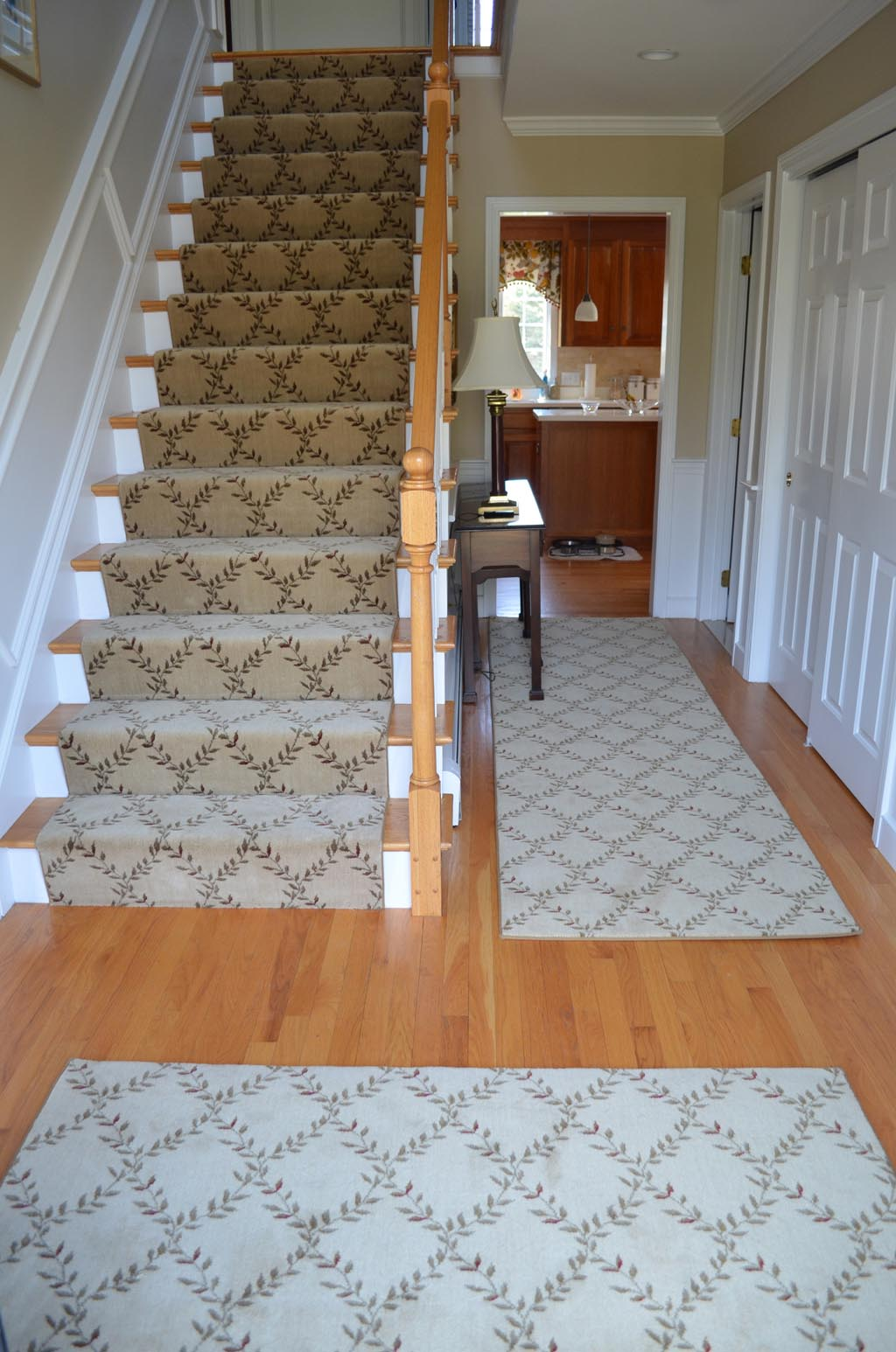 Wood Stair Carpet Runners
