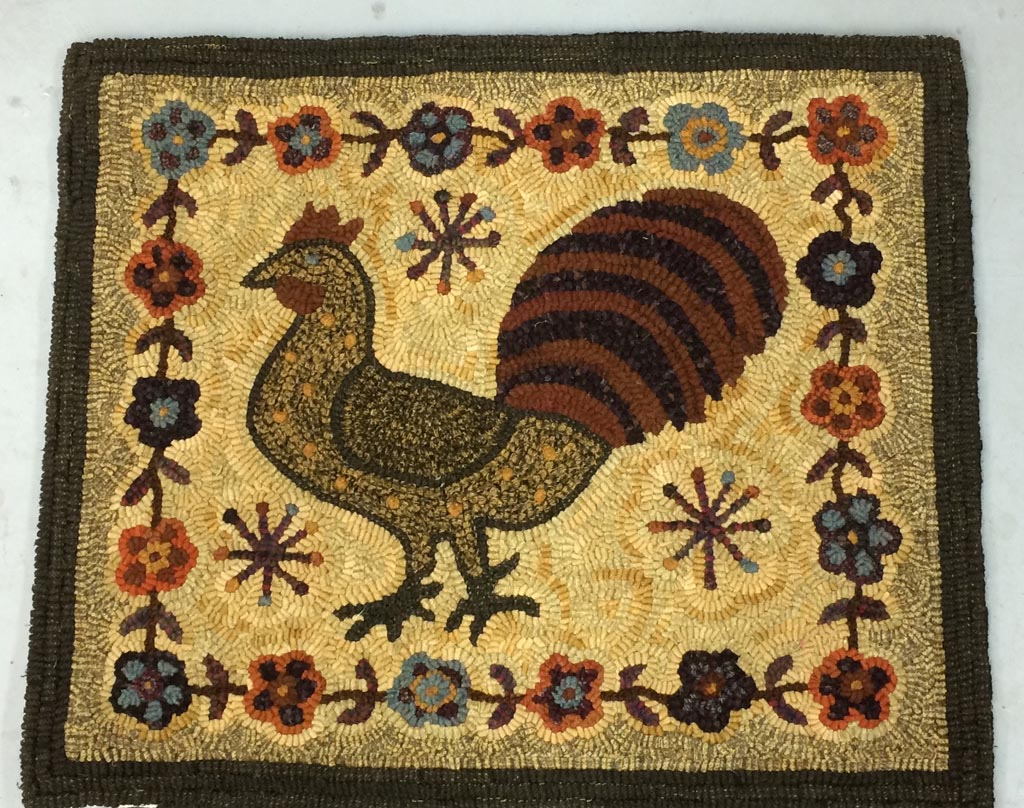 Antique Rug Hooking Patterns
