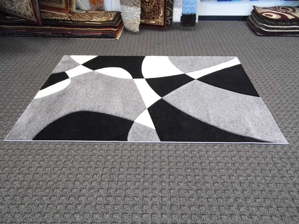 Area Rug Black And White Best Decor Things