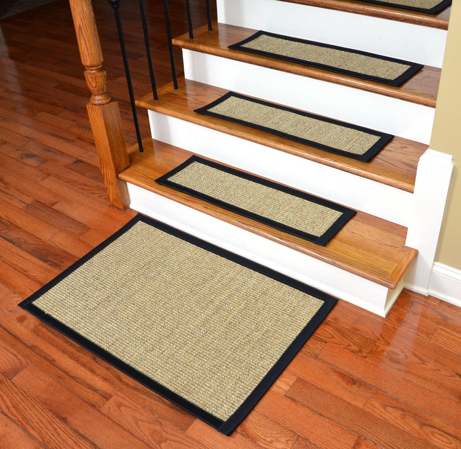 Attachable Carpet Stair Treads