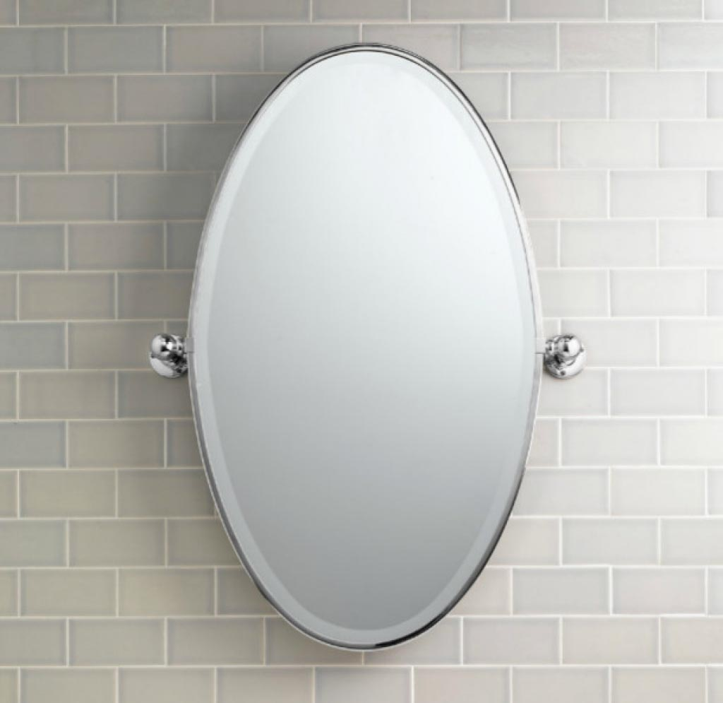 Simple With Their Fetching Shape, Oblong Mirrors Will Enrich Numerous Spaces Throughout Your Home Powder Rooms Benefit Greatly From The Addition Of Oval Mirrors For Bathrooms With Elliptical Sink Vanities, Bath Tubs And Toilet Seats, These