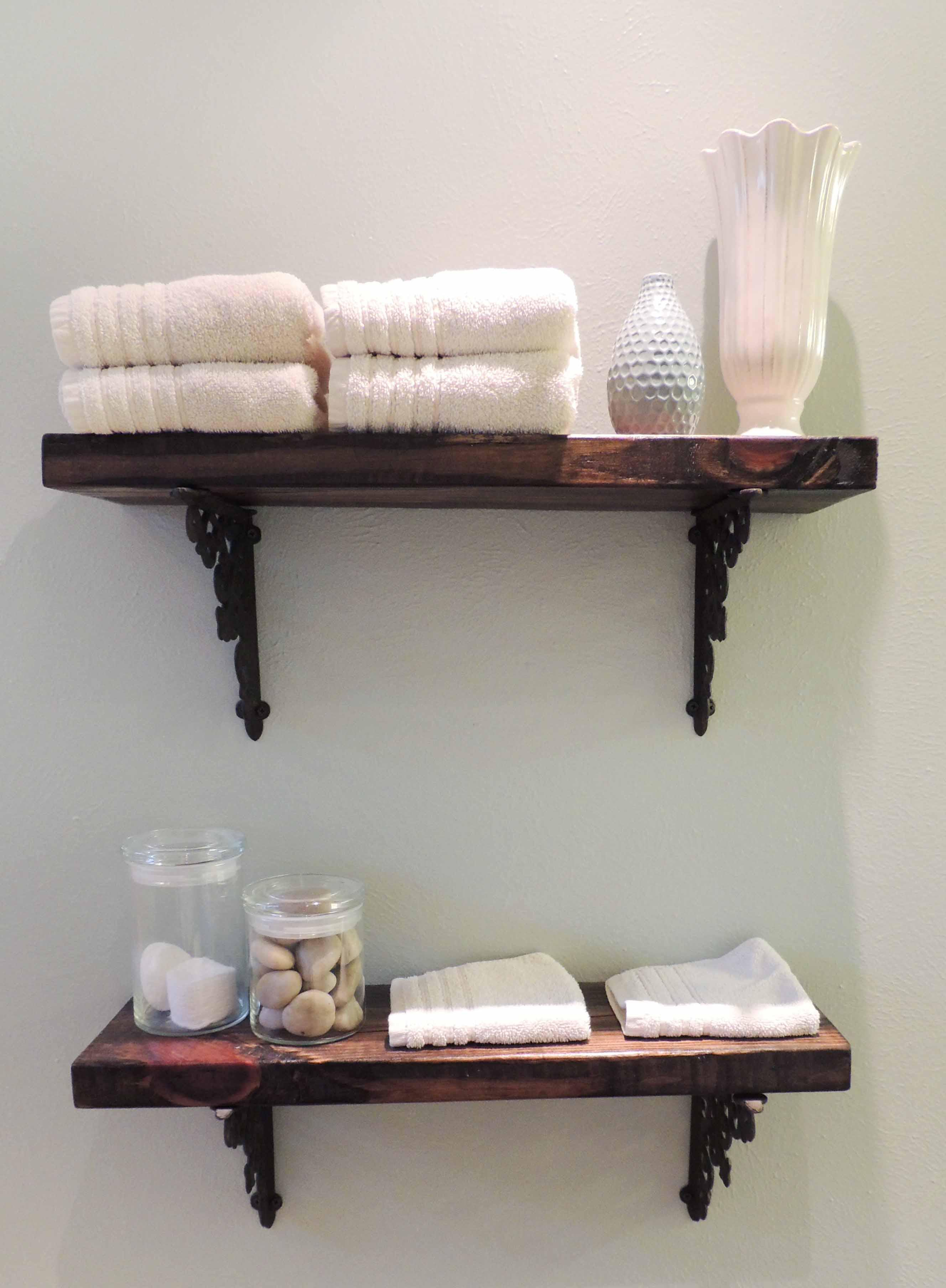 Bathroom Wall Shelves and Storage