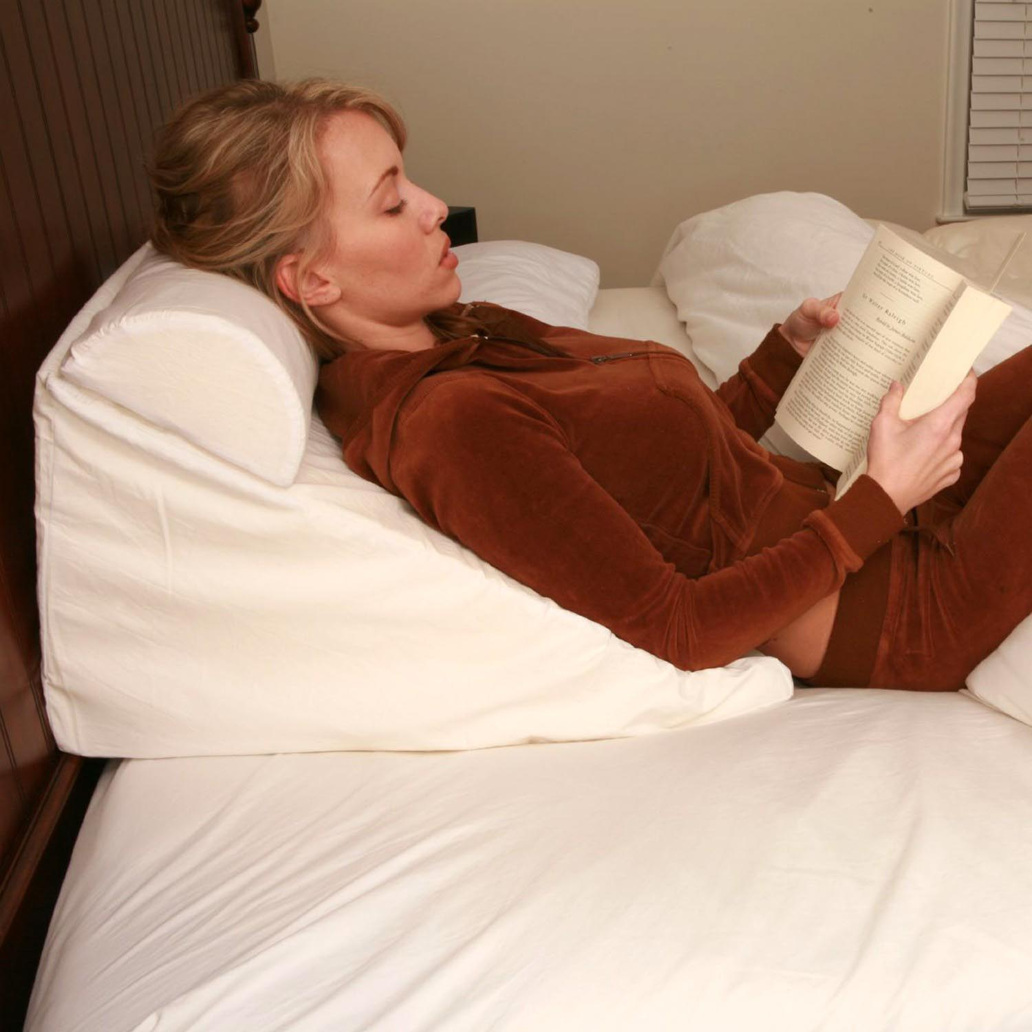 Bed Pillows for Reading