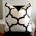 Black and White Pillows Decorative