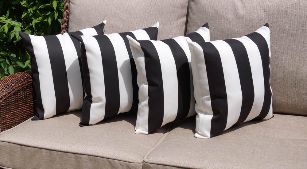 Black And White Striped Decorative Pillows Best Decor Things Stunning Black And White Striped Decorative Pillows