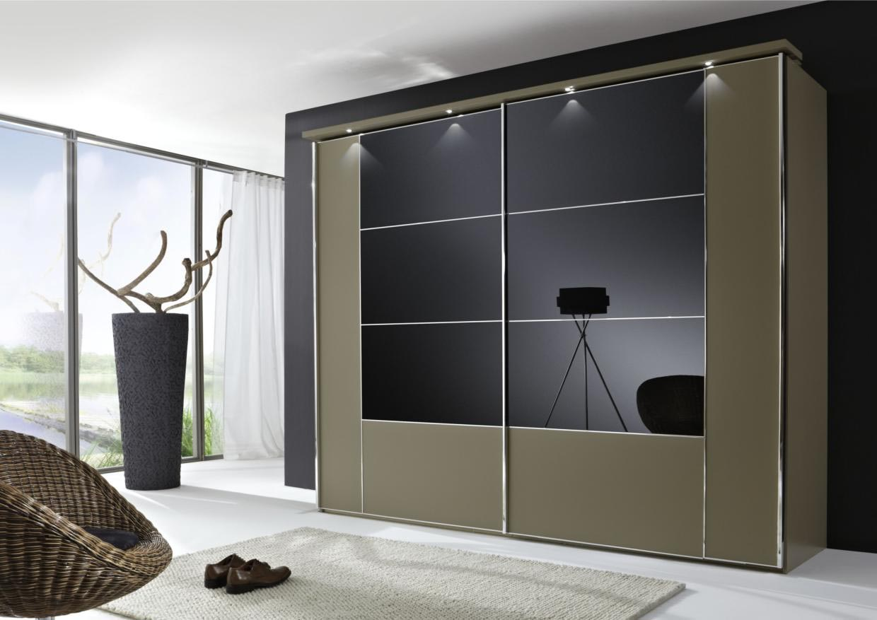 Black Glass Bedroom Furniture