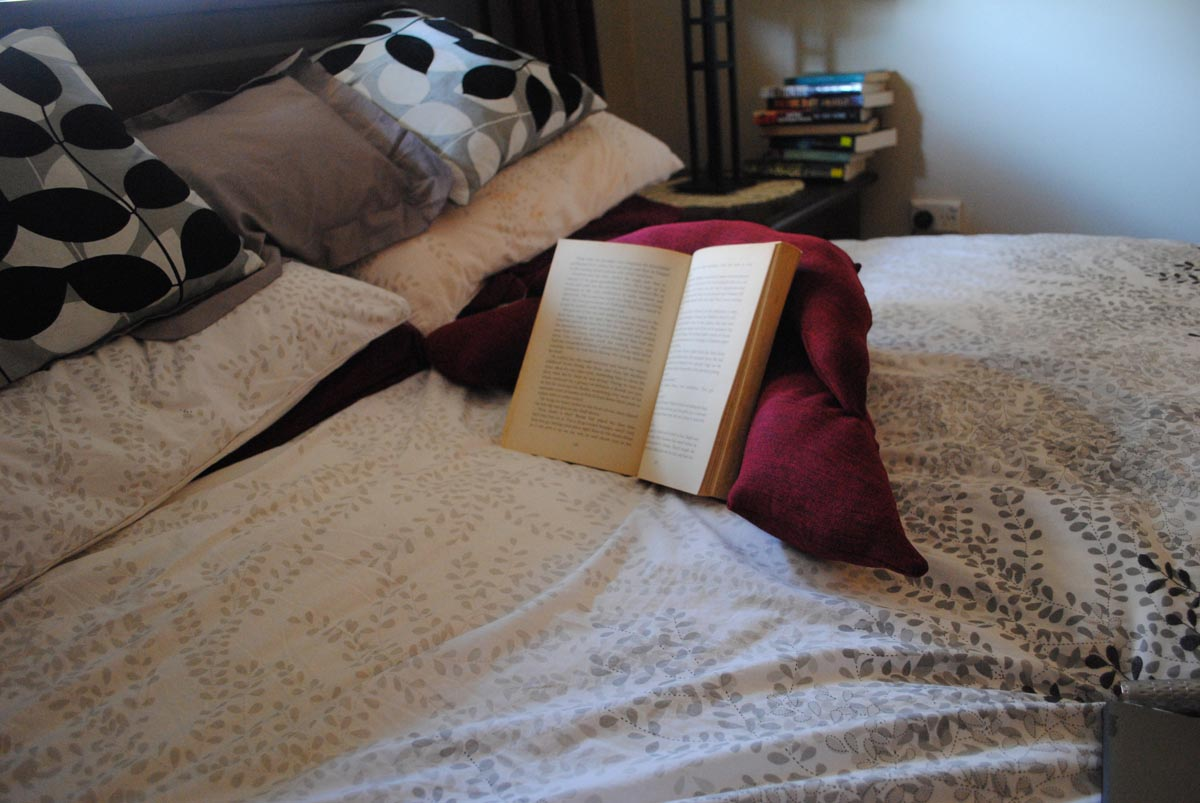 Book Pillows for Reading