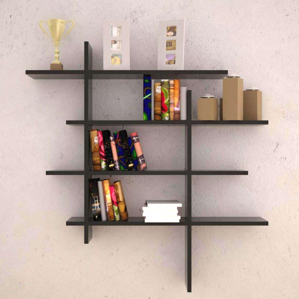 Book Shelves for Wall