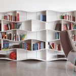 Book Shelves on Wall