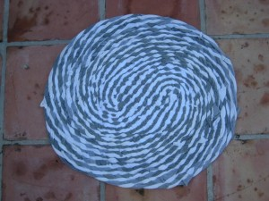 Braided Rag Rug no Sew