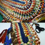 Braided Rag Rug Tutorial no Sew