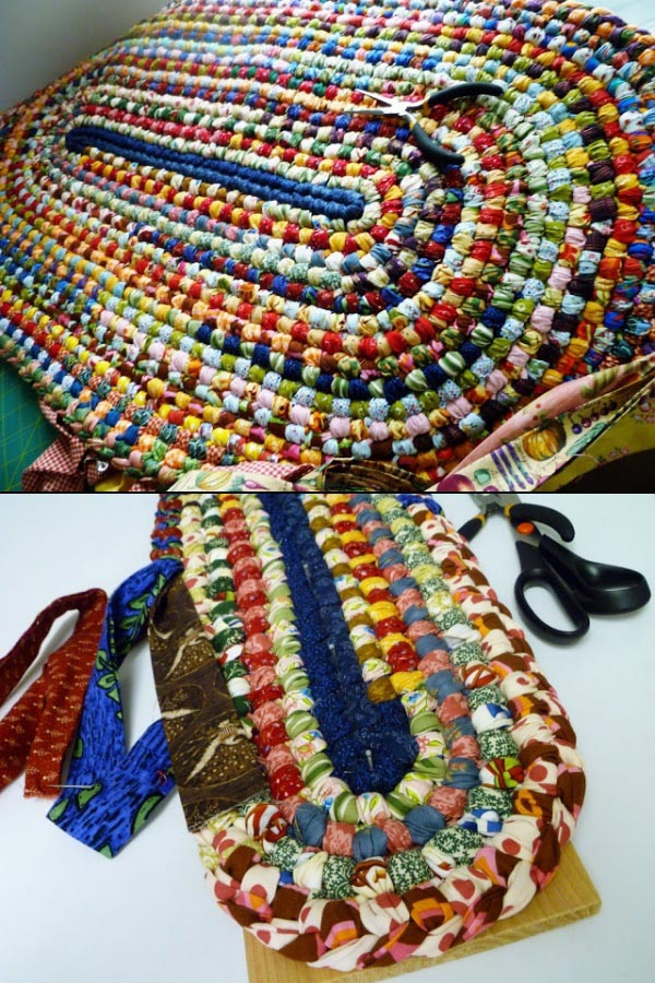 Braided Rag Rug Tutorial No Sew Best Decor Things