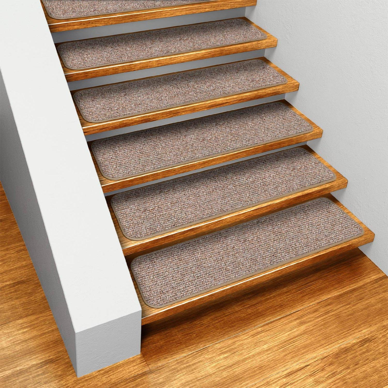 Bon Removable Carpet Stair Treads Bullnose Carpet Stair Treads ...