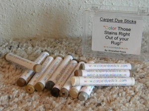 Carpet Dye Sticks