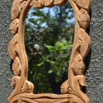 Carved Wood Framed Mirrors
