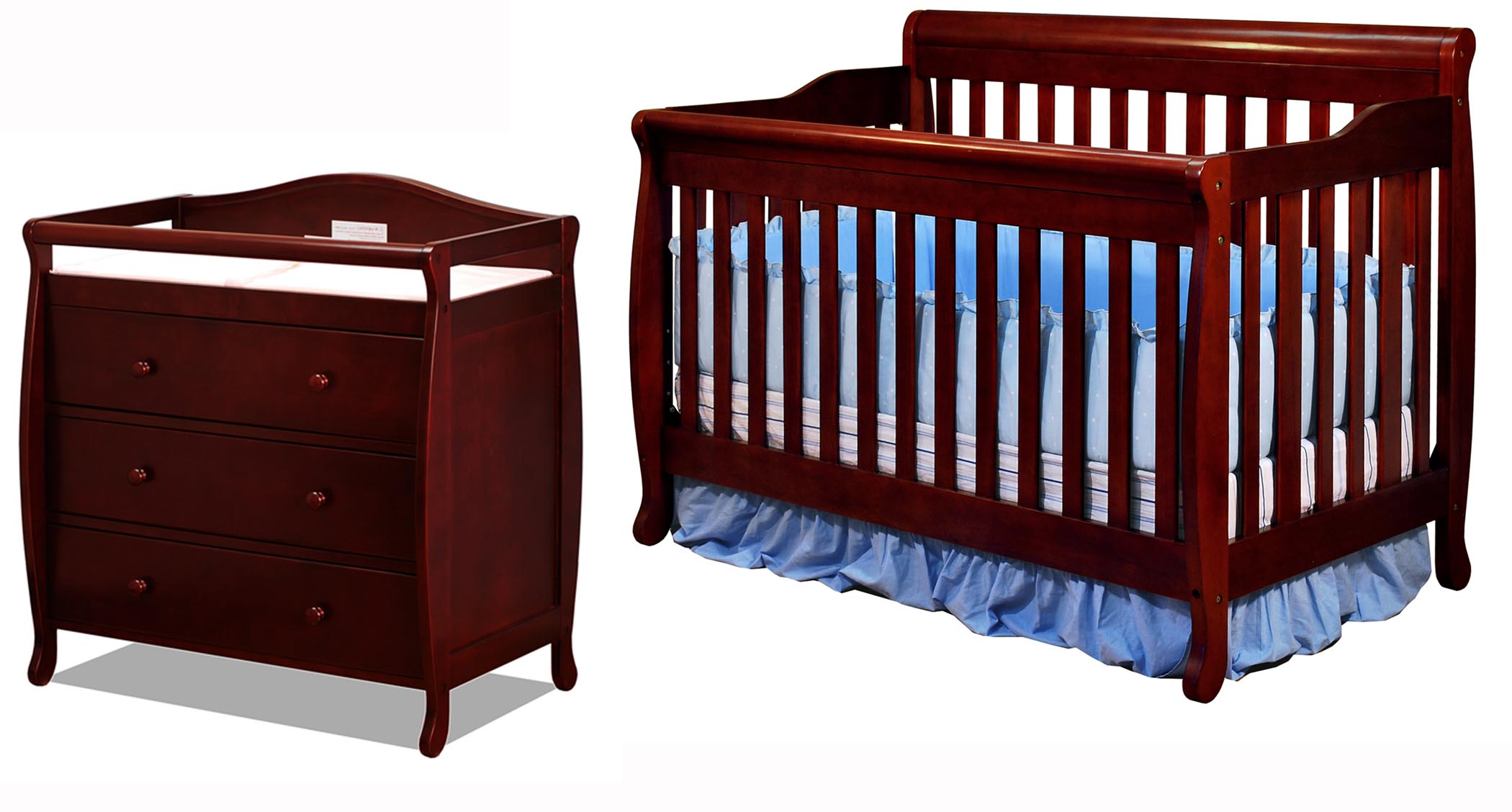 Cherry wood baby furniture best decor things for Baby furniture