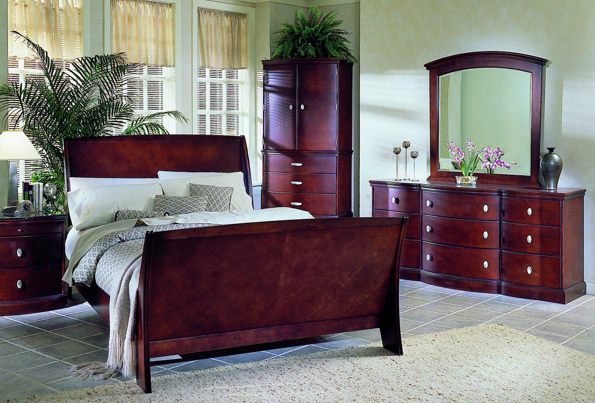 Cherry wood bedroom furniture best decor things for Picture of furniture designs