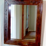 Cherry Wood Framed Mirrors
