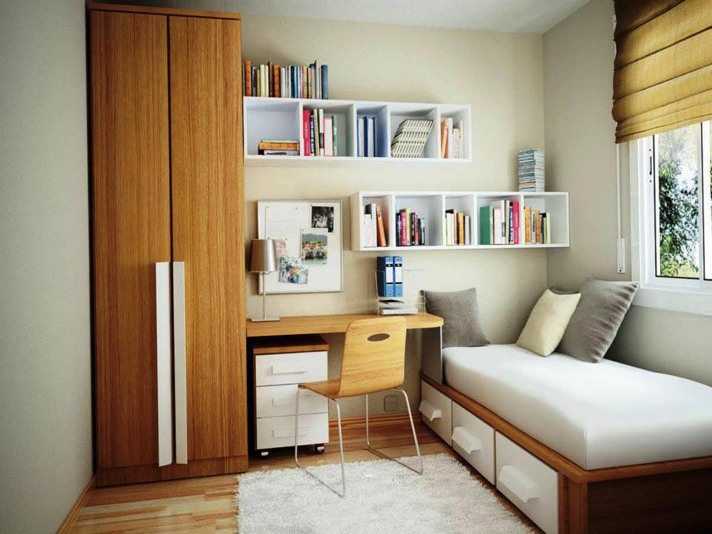 College Dorm Furniture Arrangement