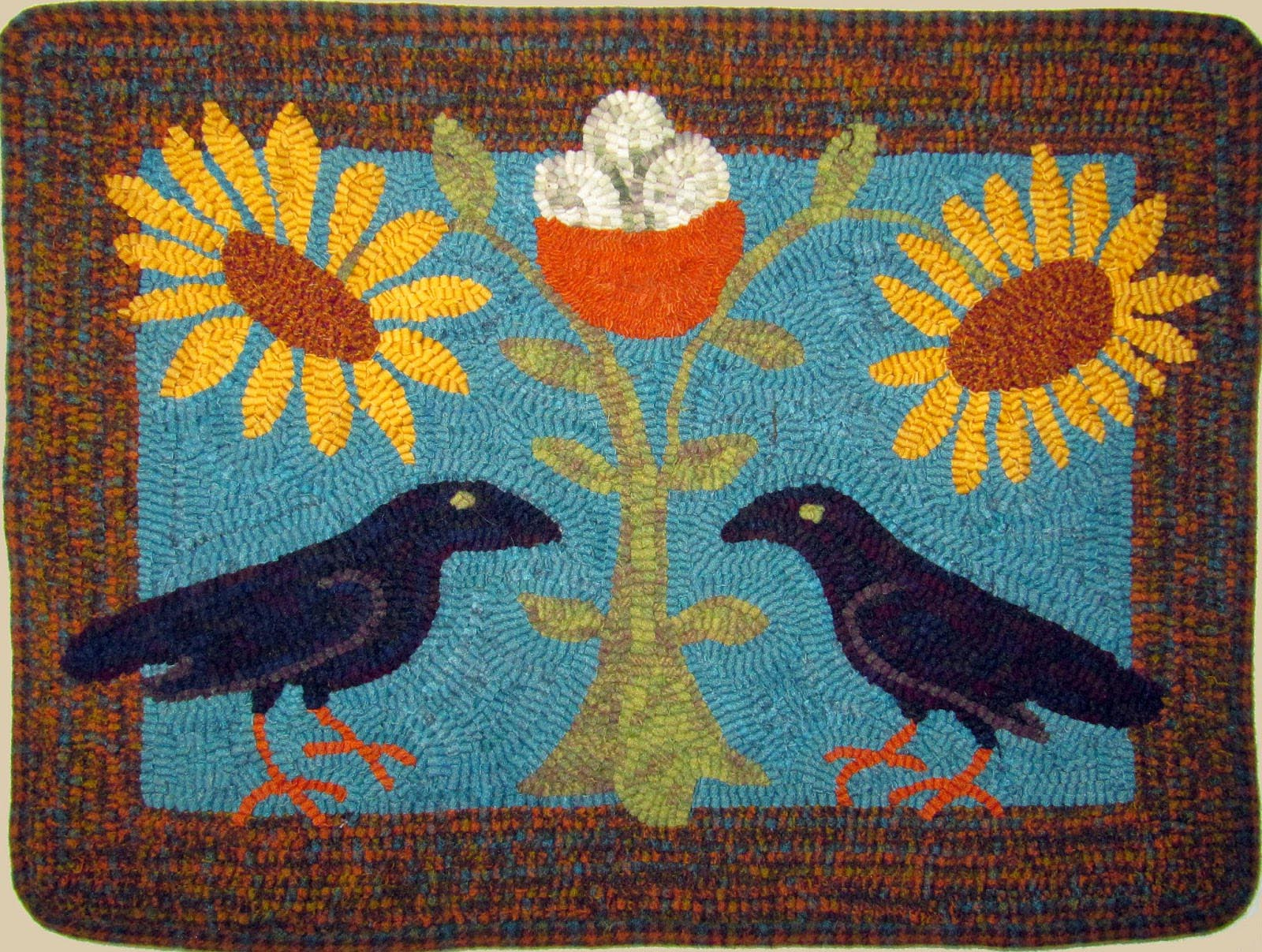 Contemporary Rug Hooking Patterns