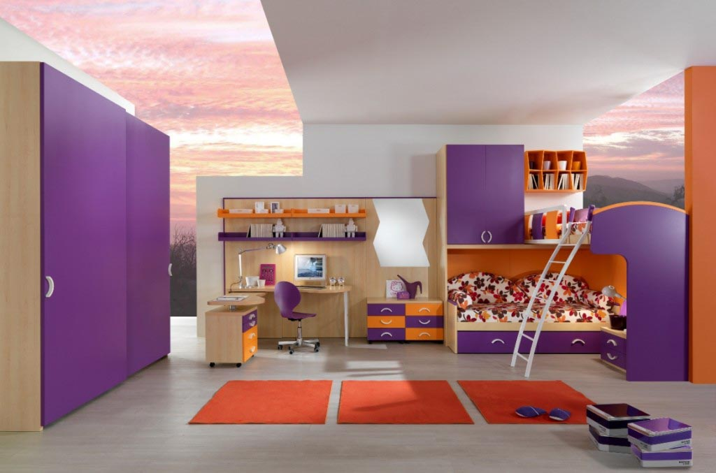Cool Furniture for Teenage Bedroom