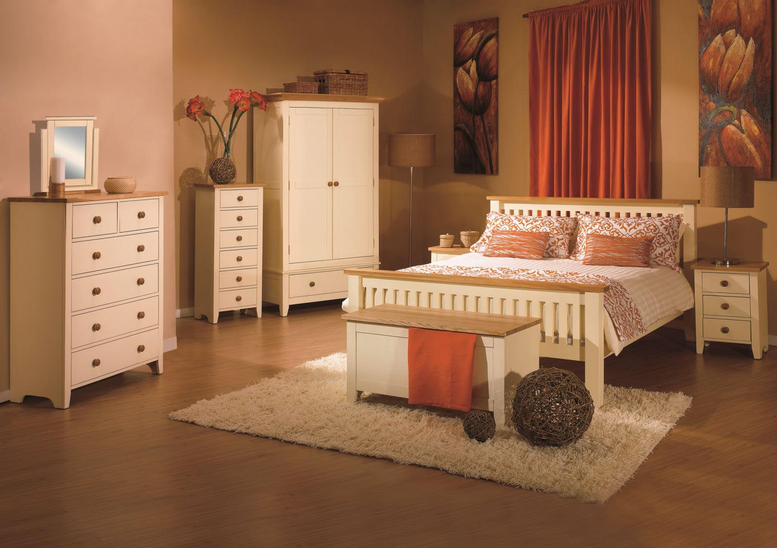 Cream Painted Bedroom Furniture