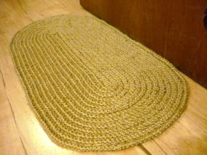 Crochet Oval Rag Rug Patterns