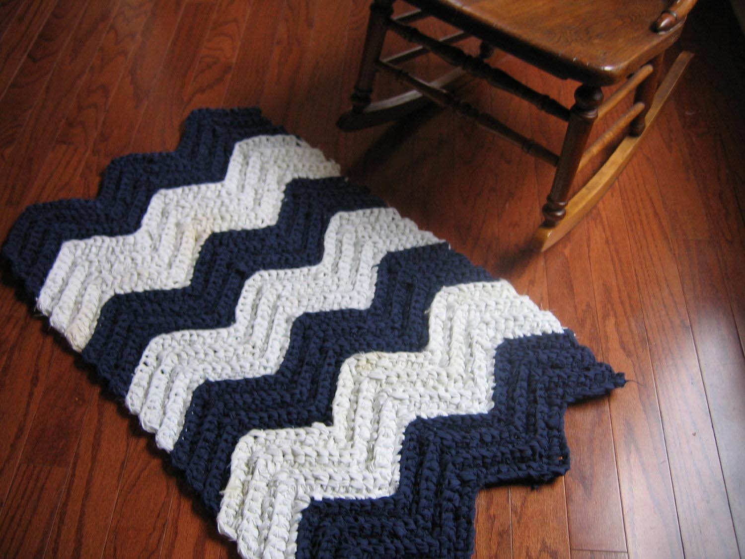 Crochet Rag Rug Instructions