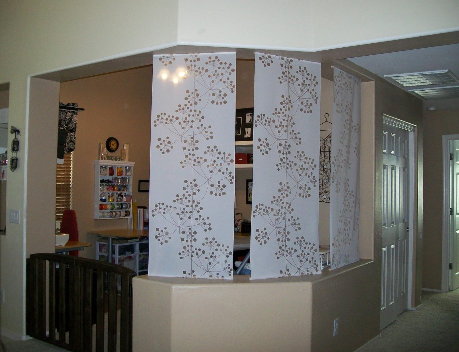 Curtain Panel Room Dividers