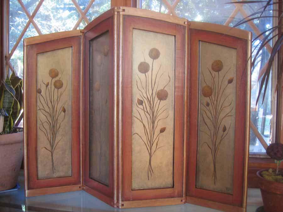 Decorative room dividers for Room divider art