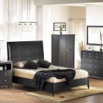 Distressed Black Bedroom Furniture