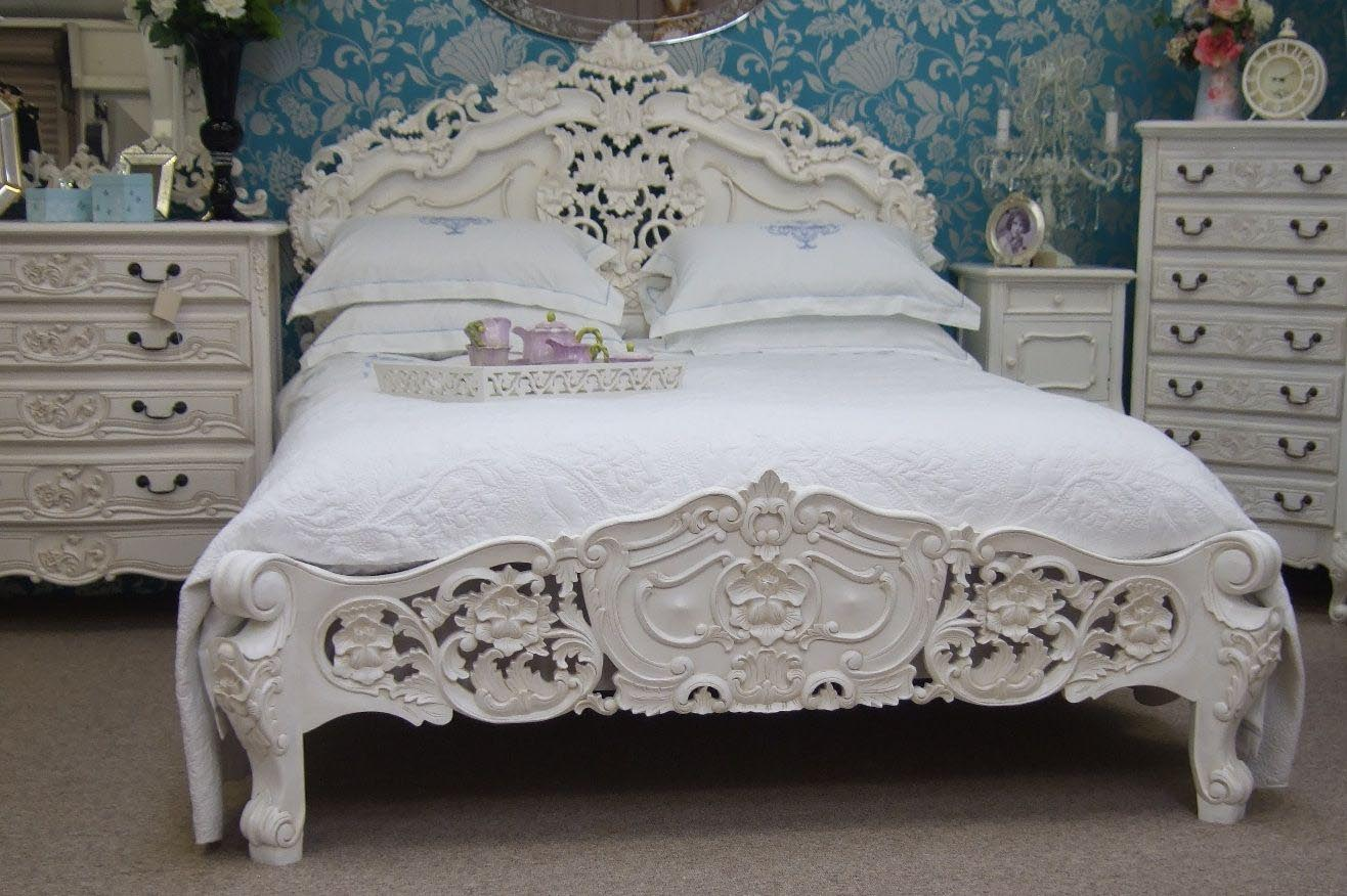 French bedroom furniture - Distressed Painted Bedroom Furniture Best Decor Things