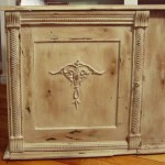 Distressed Painted Furniture Technique