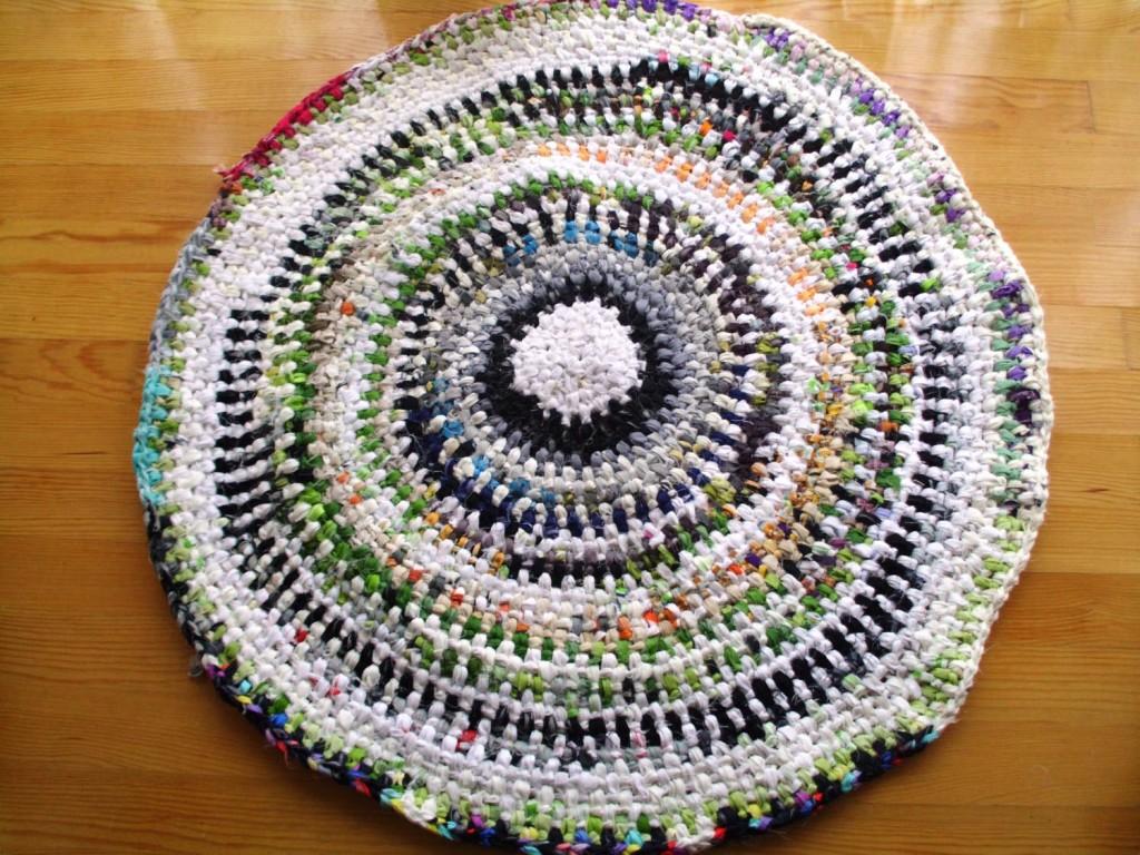 DIY Crochet Rag Rug