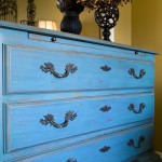DIY Distressed Painted Furniture
