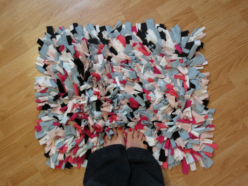 Diy Shag Rag Rug Best Decor Things