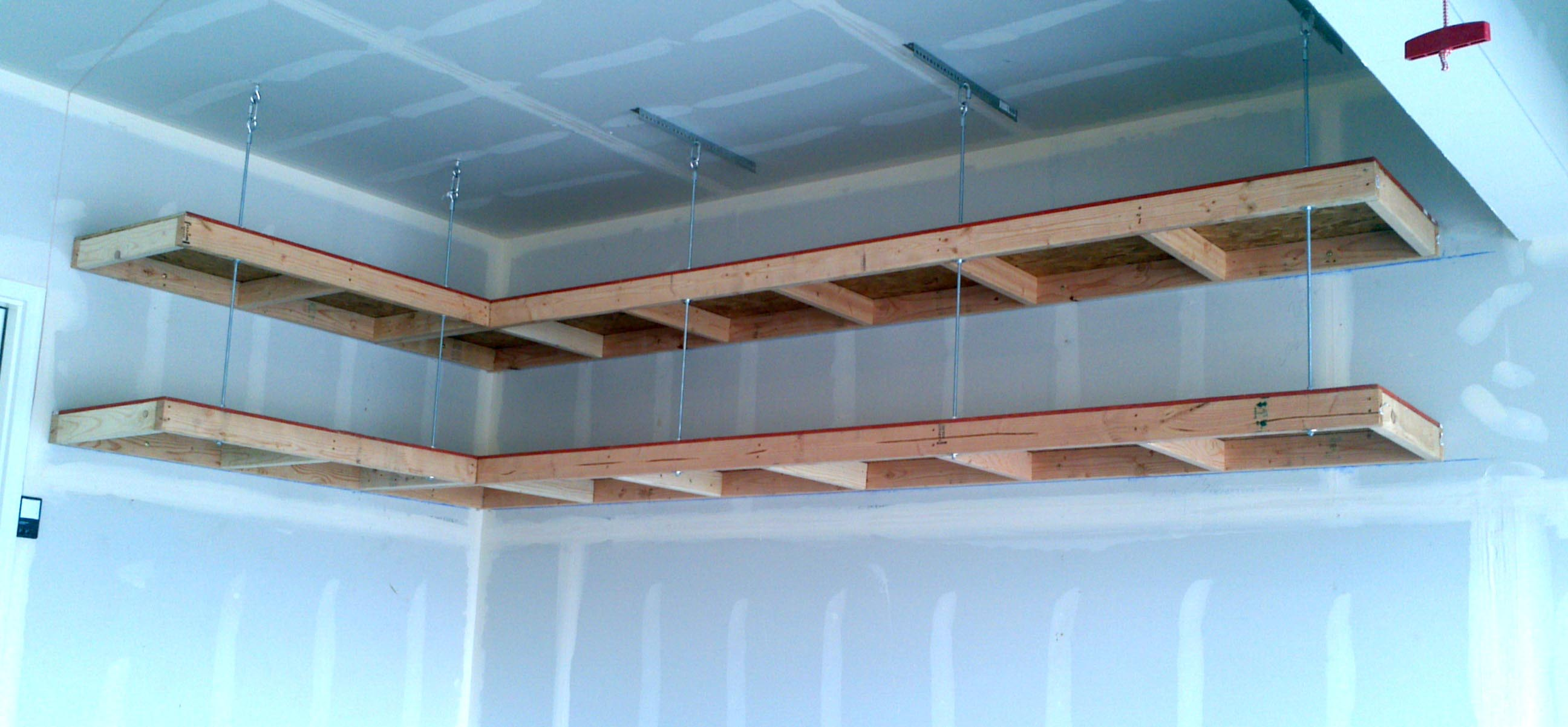 Garage Wall Storage Shelves
