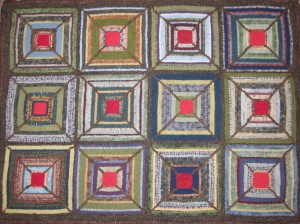 Geometric Rug Hooking Patterns