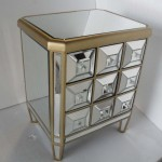Glass Chest of Drawers Bedroom Furniture