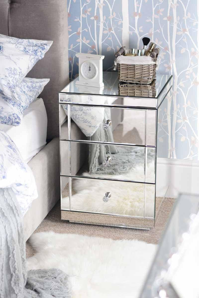 Glass Mirror Bedroom Furniture
