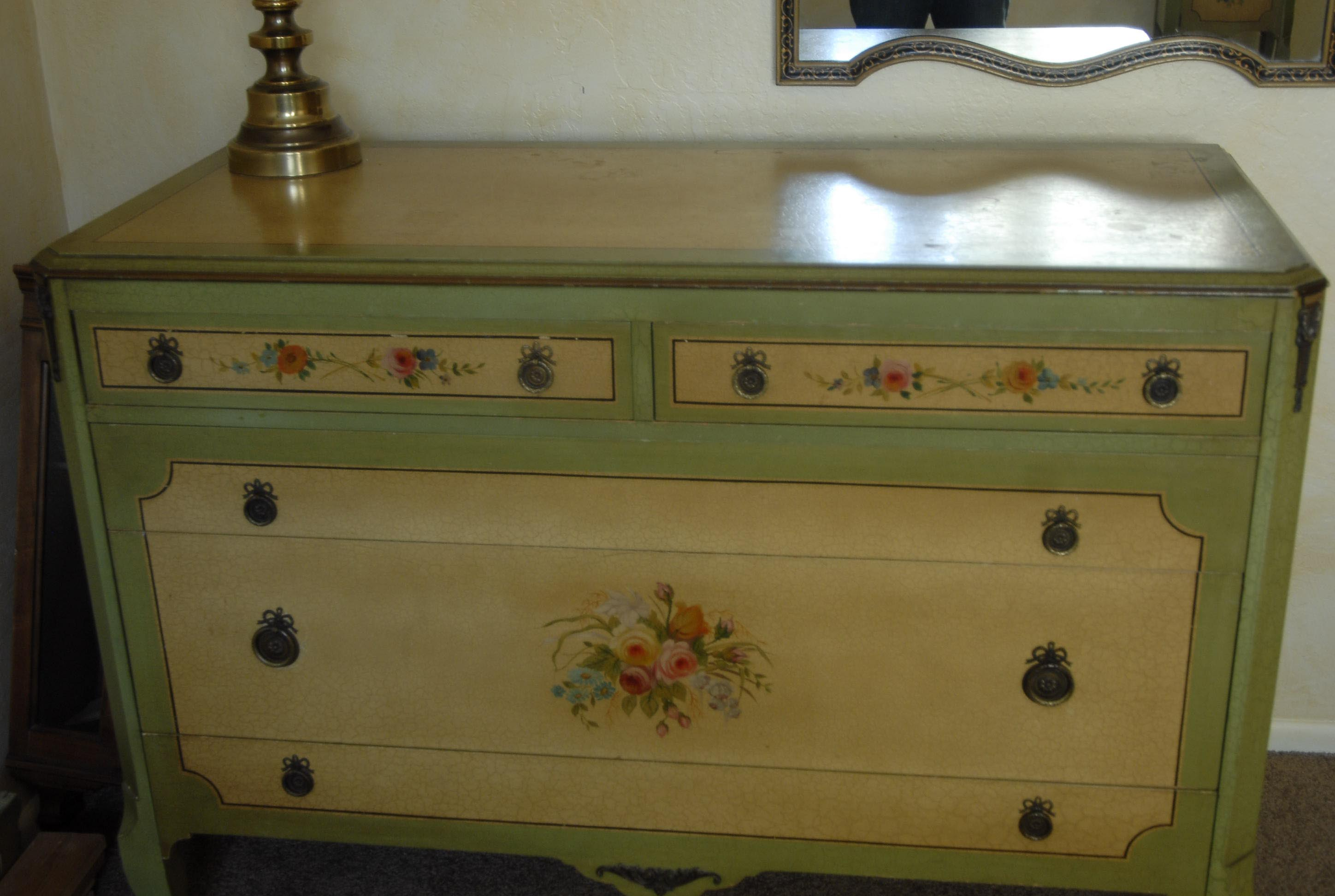Hand Painted Bedroom Furniture