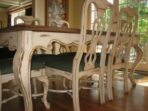 Hand Painted Distressed Furniture