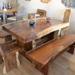 Handmade Chunky Wood Furniture