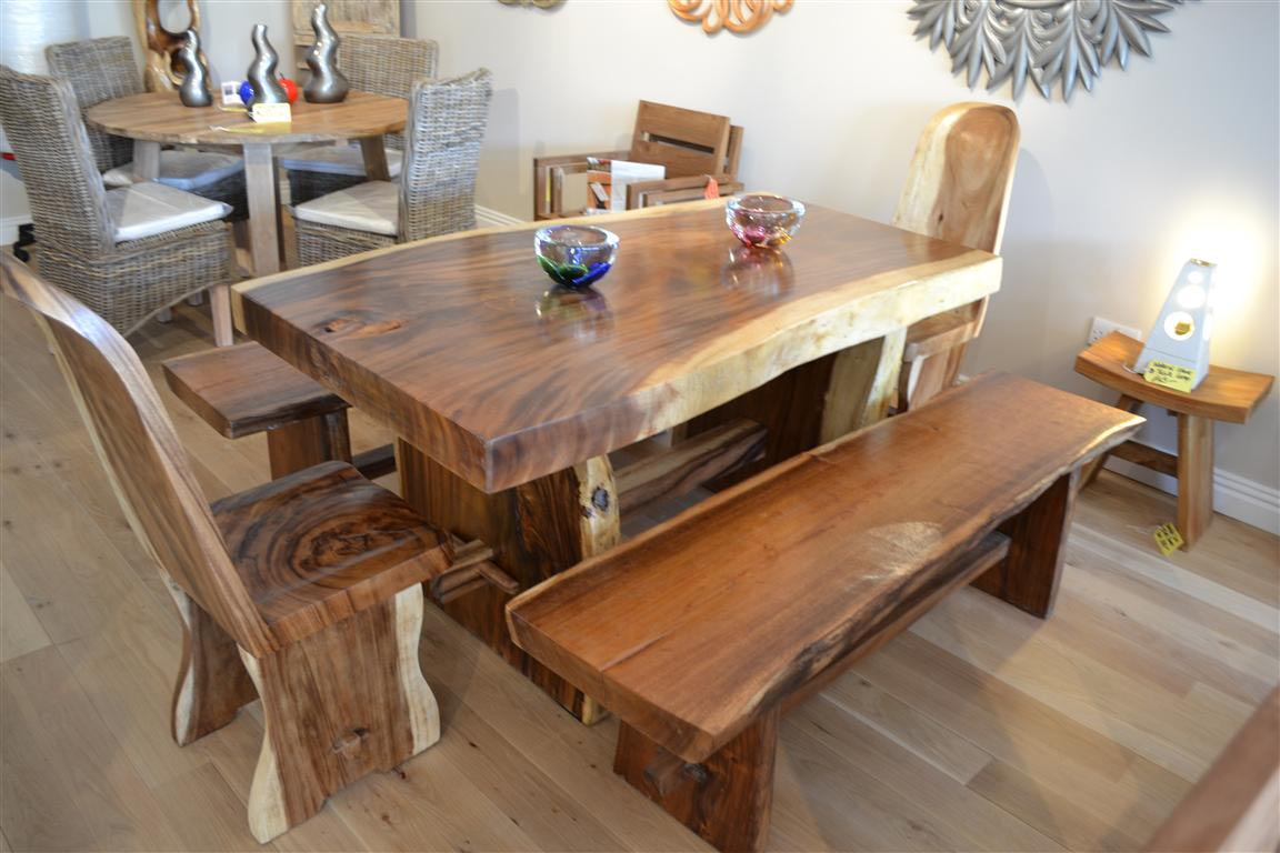 Handmade chunky wood furniture best decor things for Custom made furniture