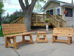Handmade Outdoor Wood Furniture