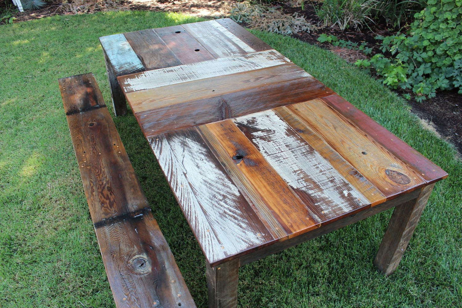 Handmade reclaimed wood furniture best decor things Unique wooden furniture