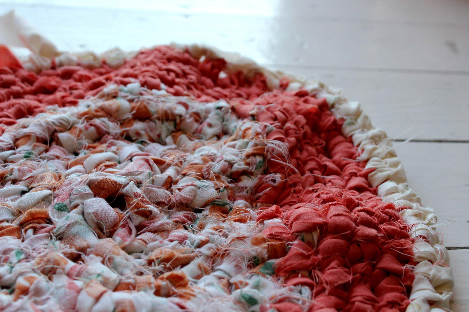 How to Crochet a Rag Rug Step by Step