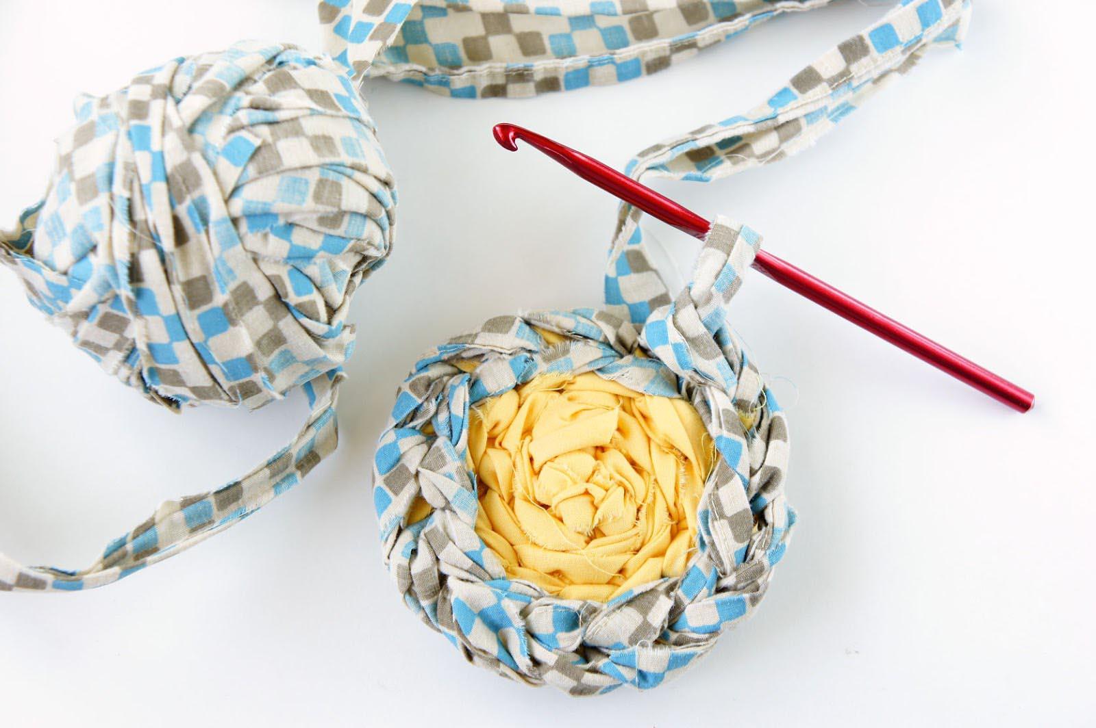 How to Crochet a Rag Rug