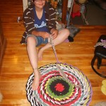 How to Make a no Sew Braided Rag Rug