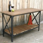 Industrial Metal and Wood Furniture